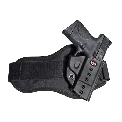 Fobus SWMPA Black RH Evolution Ankle Gun Holster Fits S&W M&P 9mm .40 .45