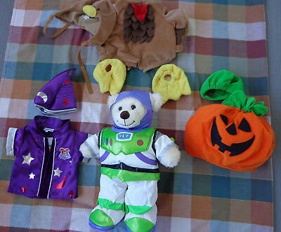 Build A Bear Lot Outfits Wizard Pumpkin Turkey Lightyear  Outfits Only