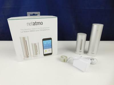 Netatmo NWS01 wasserdichte Wetterstation f. Apple iPhone Android