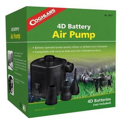 Coghlan's 817 4D Battery Operated Indoor/Outdoor Air Pump For Inflatables/Airbed