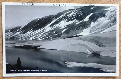 1936 Vintage Postcard from Norway Videseter No X-749.