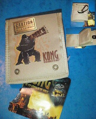 KING KONG Movie CARTERA-BILLETERO OFICIAL DE LA PELICULA