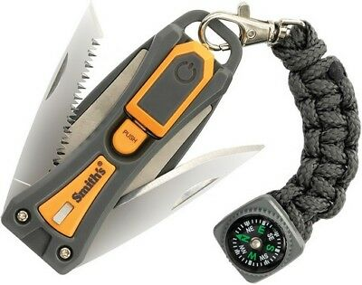 Smith's Sharpeners 50480 EdgeSport 10-N-1 Survival Multi-Tool