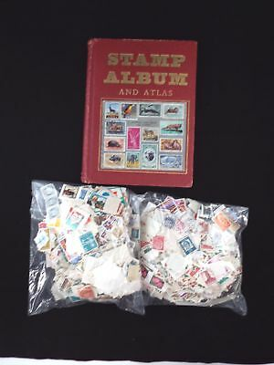Collection of Various Approx. 2000 WORLD STAMPS Various Dates - A05