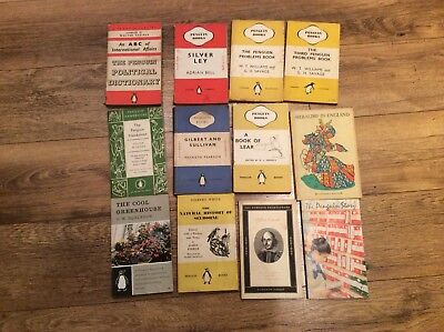 Job lot of penguin books. .Vintage Penguin book of problems