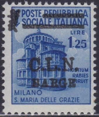 Italy Local Issues Barge 1945 / L.1,25 Mnh B14191