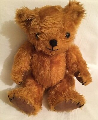 "Old vintage jointed 13"" Teddy Bear"