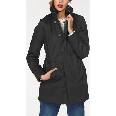 g star jacke damen trenchcoat mantel grau gr m gebraucht. Black Bedroom Furniture Sets. Home Design Ideas