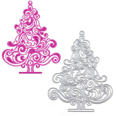 Cutting Die Stencil Scrapbook Album Paper Embossing Card-Christmas Tree
