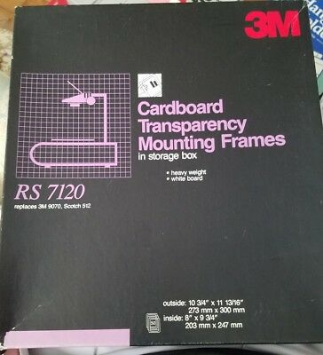3M Cardboard Transparency Mounting Frames - Overhead Projector