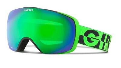 NEW Giro Contact Green Mirror Mens Oversized Spherical ski goggles 2017 Msrp$220