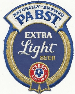 Pabst Beer patch large size 1970s very well made