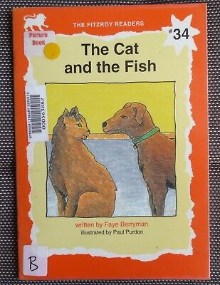 Faye Berryman ~ The Fitzroy Readers ~ The Cat And The Fish #34