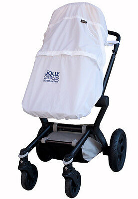 Weathersafe by Jolly Jumper Waterproof Stroller Cover, UVA/UVB Protection 619797