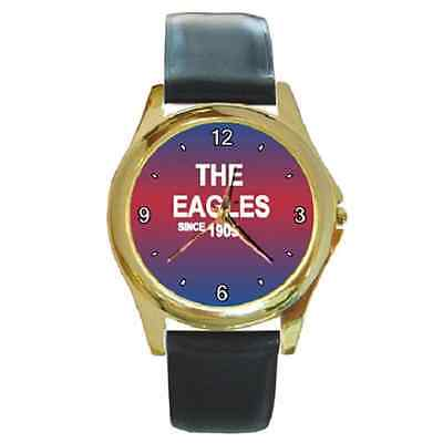 **new* Crystal Palace The Eagles Since 1905 Round Wristwatch **great Gift Item**