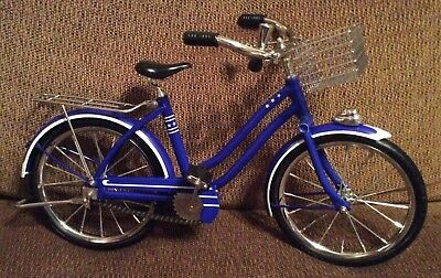 American Girl Doll MOLLY Blue Bicycle - Retired - Mint