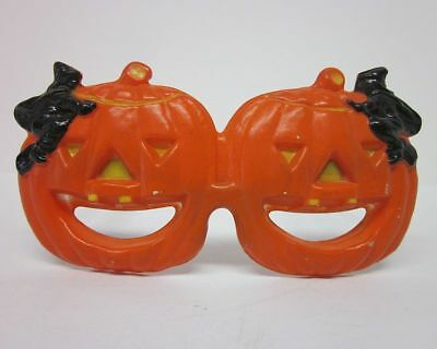 Vintage Foster Grant Funglasses Halloween Costume Pumpkin Witch Glasses bv1949
