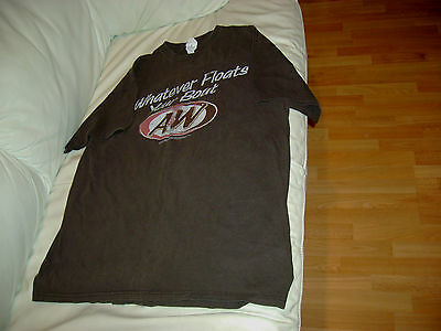 A & W Soda Whatever Floats Your Boat Cotton Size Large