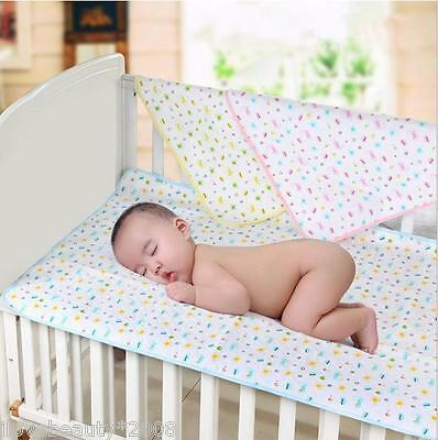 Reusable Baby Infant Waterproof Breathable Nappy Cover Change Mat Urine Pad