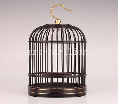 Wood Animal Bird Cage Unique Handicraft Collection