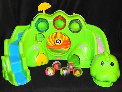 Fisher-Price Roll-A-Rounds - Drop & Roar Dinosaur