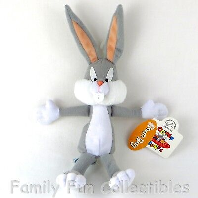 LOONEY TUNES~1997 Applause~Bean Bag Doll~Bugs Bunny~Cartoon Figure~NEW NOS
