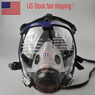 US Large View Full Face Spraying Painting AntiDust Gas Mask For 6800 Respirator