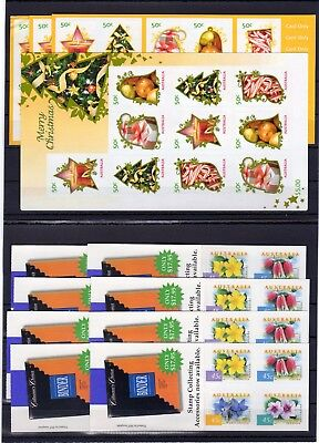 Australia , Valid Postage , Flowers , Only Booklets, Face Value Aus $ 56 , Mnh