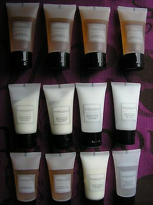 lot luxe voyage lait corps, shampoing conditionneur, gel douche ; 12 x 30mL