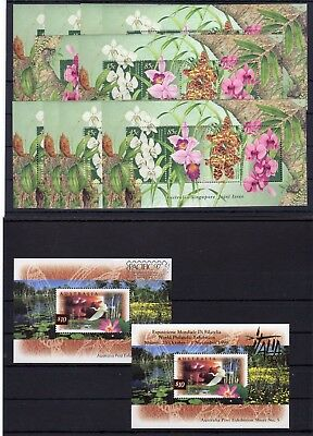 Australia , Valid Postage , Birds/flowers ,only S/s , Face Value Aus $ 55 , Mnh