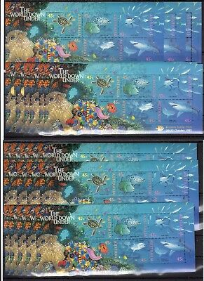 Australia , Valid Postage , Sharks  , Only S/s , Face Value Aus $ 62 , Mnh