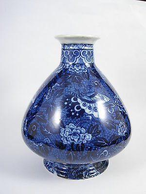 Lovely Shelley Blue Dragon Vase c. 1919