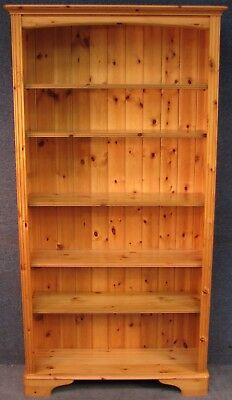 Ducal Solid Pine Tall Bookcase / Bookshelves