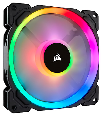 Corsair LL140 Dual Light Loop PWM Fan (140mm) RGB LED