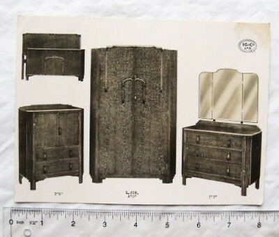 Vintage photo - IG & Co. Ltd. bedroom furniture