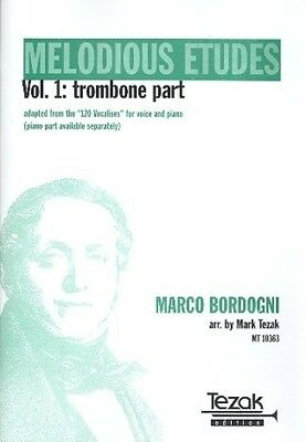 Mark Tezak Verlag Melodious Etudes vol.1 - Trombone Part