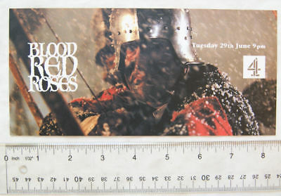 1980s Flyer - Blood Red Roses - Battle of Townton
