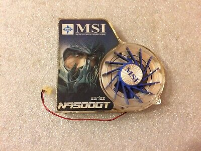 Dissipatore + ventola scheda video MSI N9500 GT series NVIDIA N9500GT-MD512/D2
