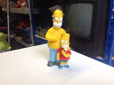 The Simpsons Homer And Bart Pvc Figure 1997