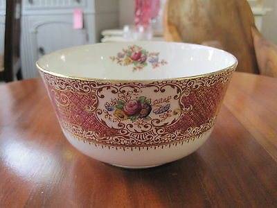 Pretty Wild Bros Floral & Gilt Bowl