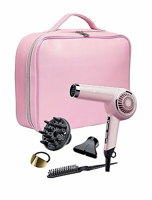 Remington 2000W Retro Hair Dryer Gift Set With Brush, Concentrator & Diffuser