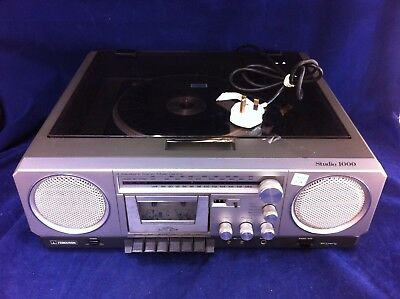 Ferguson record player with cassette and tuner, integral speakers ##RUF113JM