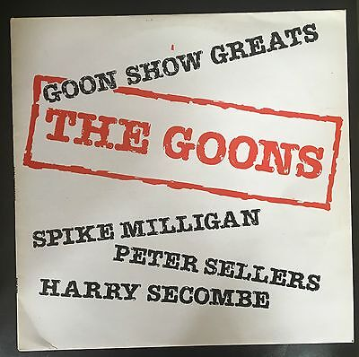 The Goons - Goon Show Greats UK LP Parlophone Recs