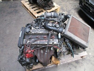 TOYOTA MR2 MR-2 aw11 4agze engine motor incl  getriebe transmission  kabelbaum