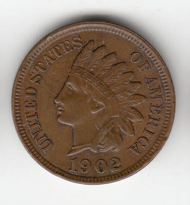Usa Indian Head Cent 1902        178Z       By Coinmountain
