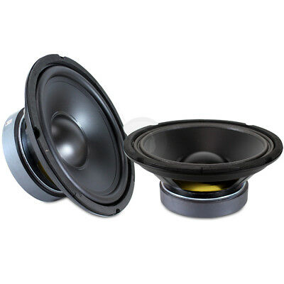 """Pair 8"""" Bass Speaker Cone Replacement Hifi Car Subwoofer Drivers 500W SSC2469"""