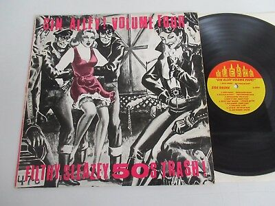 Various/sin Alley-Vol.4 Filthy,sleazy,50S Trash!-Sin Alley Series-Lp Sleaze 5562
