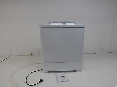 Portable Compact Washer and Spin Dry Cycle with Built in Pump (99801)