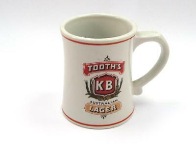 1984 TOOTH'S KB LARGER Miniature Beer Stein by Franklin Mint