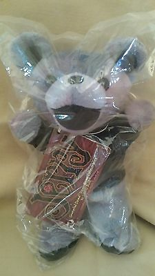 New Sealed in Bag Grateful Dead JERRY Bean Bear Collectible with Tag Liquid Blue